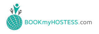 logo bookmyhostess
